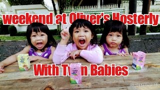 Weekend At Oliver's Hostelry Bandung With Twin Babies