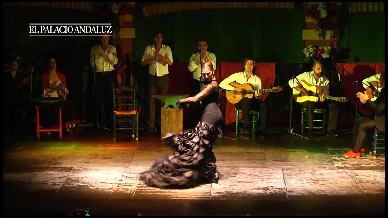 Palacio andaluz tablao flamenco sevilla youtube for Espectaculo flamenco seville sevilla