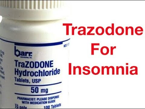 Trazodone for Insomnia: Everything You Want To Know