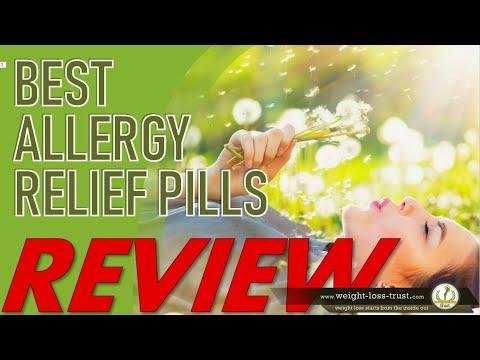 REVIEWS Top 5 Best Allergy Relief Pills 2020