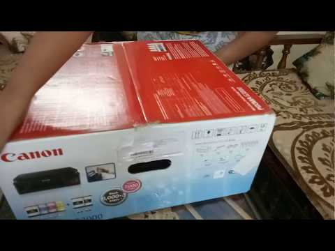 unboxing-of-#canon-#wireless-printer-#pixma-g3000