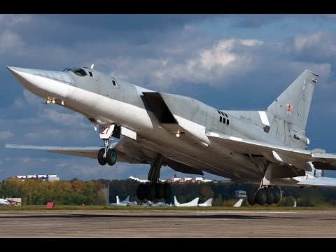 AWESOME POWER Tu-22M Military Aircraft Takeoff & Landing