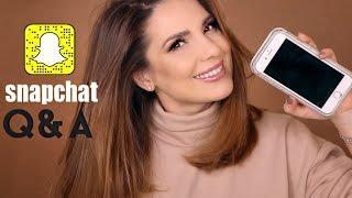 Snapchat Q&A - Cum am ajuns sa lucrez pentru ABH? + HOLIDAY GIVEAWAY