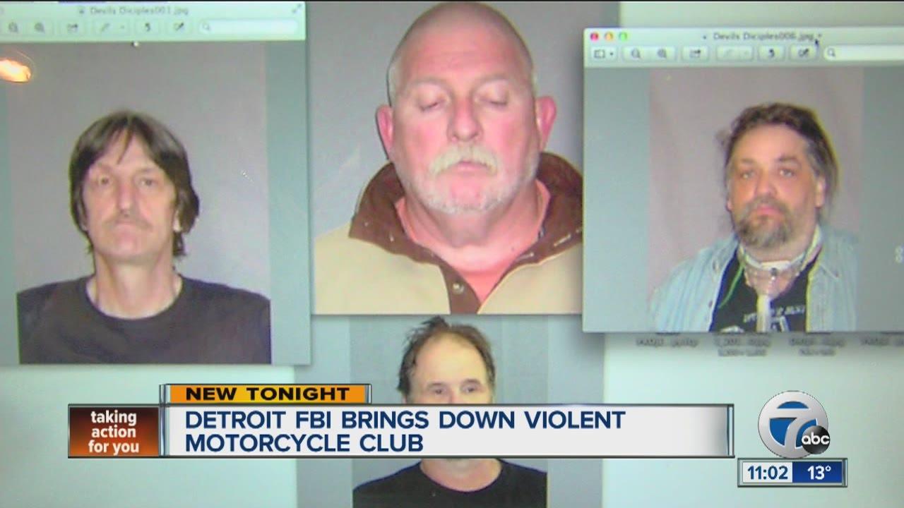 Detroit FBI brings down violent motorcycle club