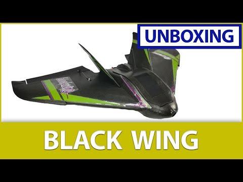 """📦 Unboxing the Eachine """"Black Wing"""" ✈️ (680mm EPP FPV Racer Kit)"""