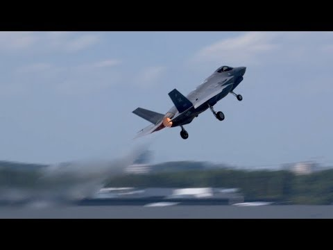Lockheed Martin's F-35A Performs Validation Flying Display at Paris Air Show 2017 – AINtv Express