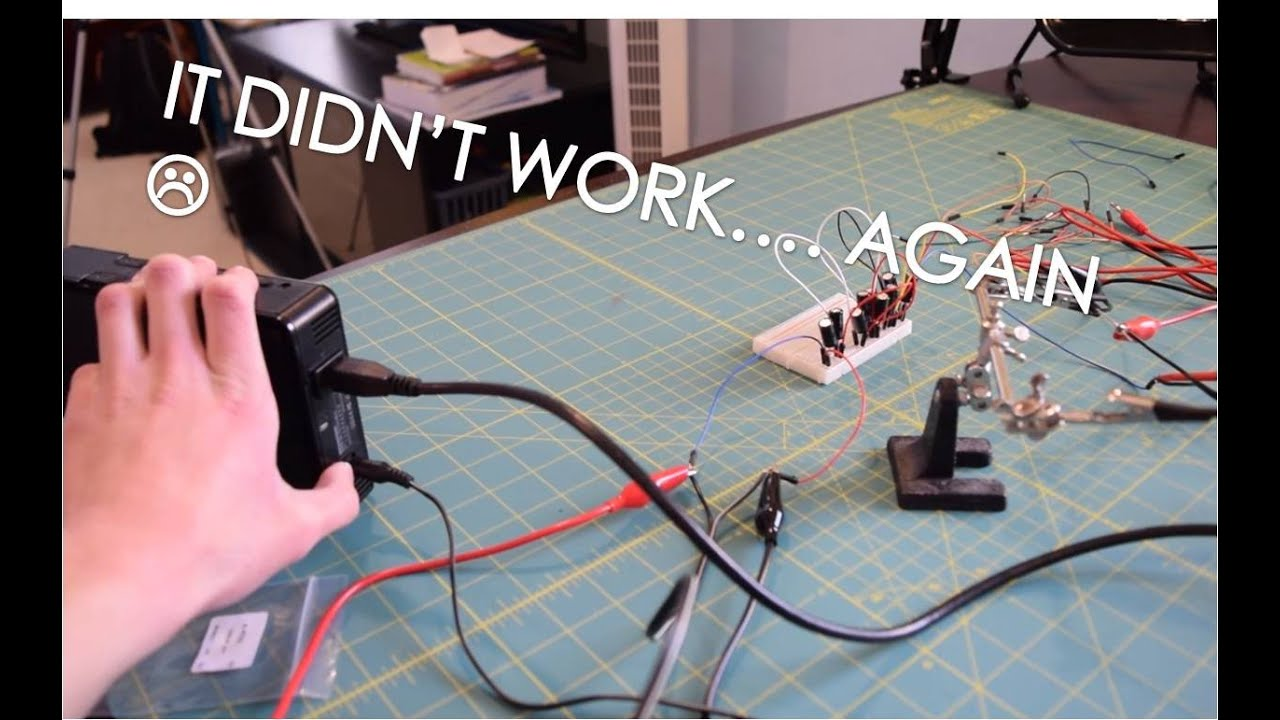 Failure EP3: Building a USB 5V to 12V Power adapter for 3.5\