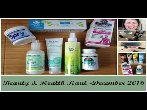 A Gluten free Beauty & Health Haul- Products for Women