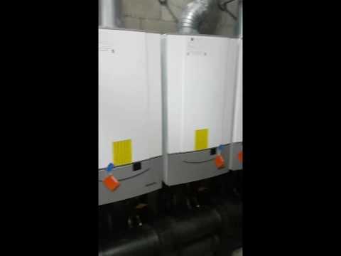 Remeha boiler fault - quinta 85 - cracked door - commercial boiler ...