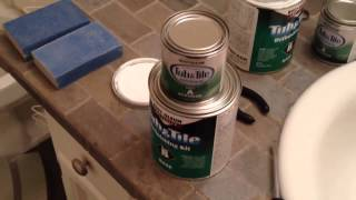 How To Paint Bathtub And Tile With Rust-oleum Tub And Tile Step