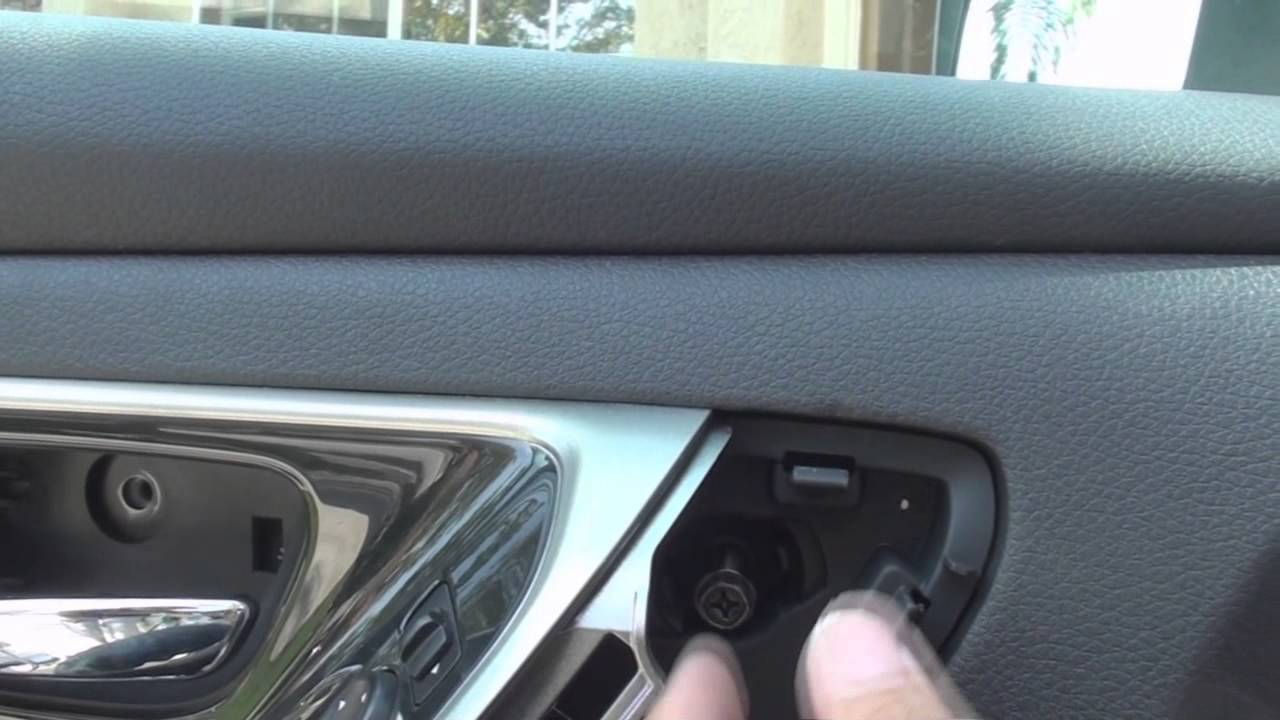 Remove Door Speaker Altima 2013 2014 Youtube