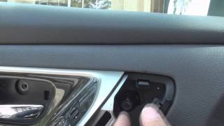 remove door speaker Altima 2013-2014