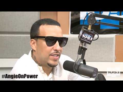 French Montana and Khloe Kardashian FULL Interview w/ Angie Martinez  7-24-2014