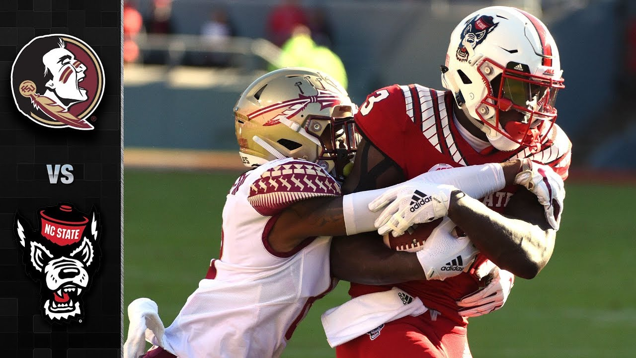Florida State Vs Nc State Football Highlights 2018 Youtube
