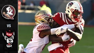 Florida State vs. NC State  Football Highlights (2018)