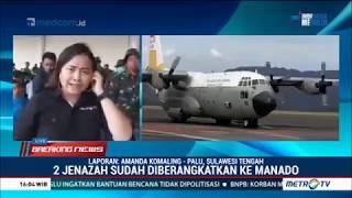 Dua Jenazah Atlet Paralayang Tiba di Manado