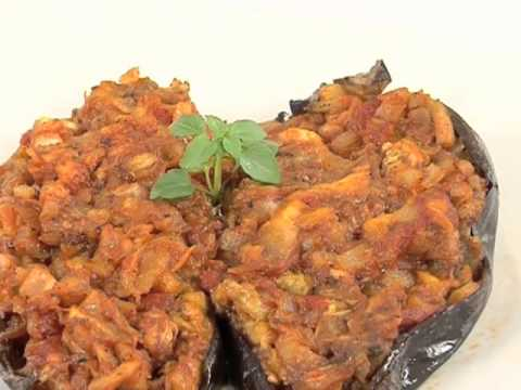 Cocina Andaluza | Receta De Barquillo De Berenjena Cocina Andaluza Saludable Youtube