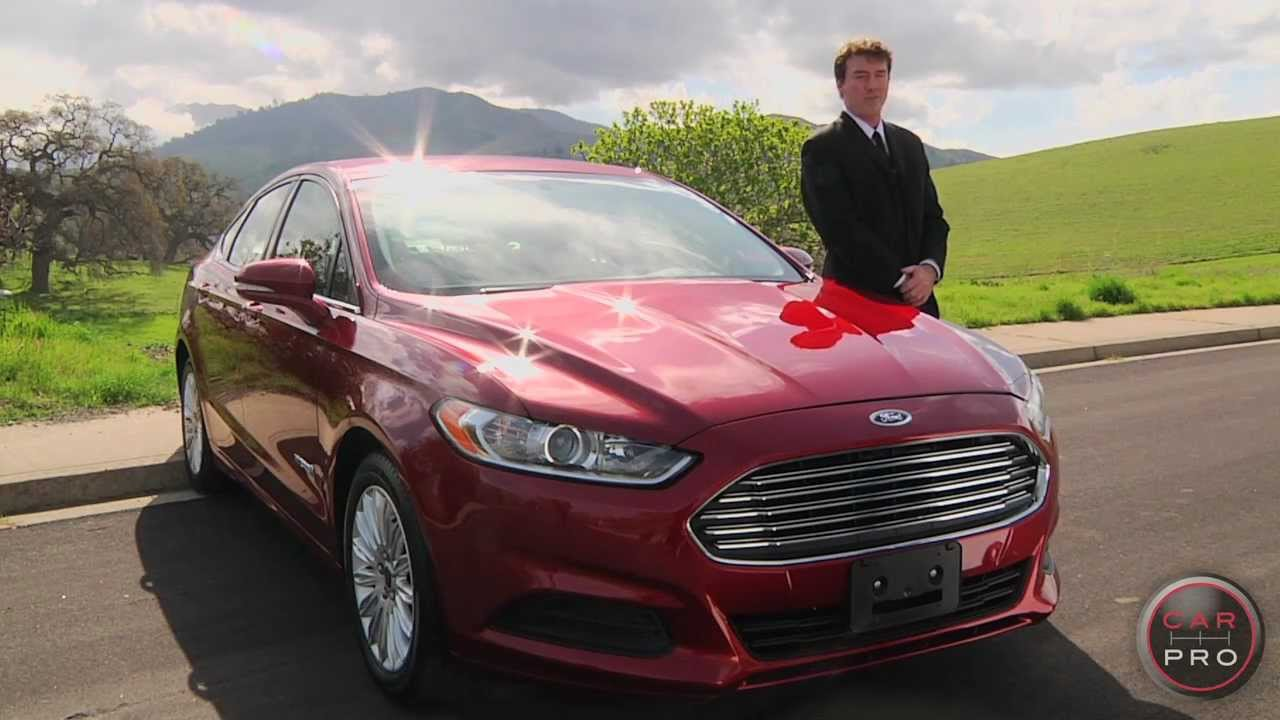 2013 ford fusion hybrid review test drive by chris leary for car pro news
