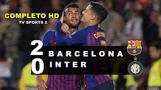 Barcelona 2 x0 inter de milao melhores momentos e HD
