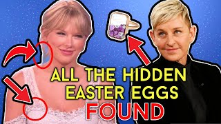 Taylor Swift On Ellen - EVERY EASTER EGG SHE DROPPED | Taylor Swift Tuesday #55