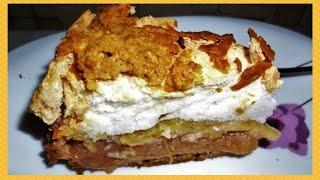 Польский яблочный пирог, нежная вкуснятина !