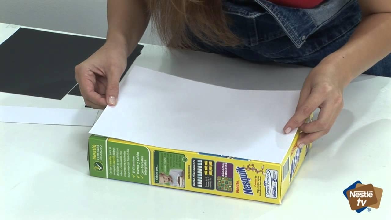 Manualidades Para Ninos Hacer Fichas De Domino Con Cereales Nestle