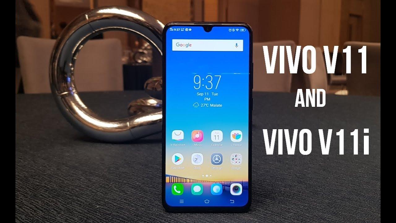 Vivo V11 And Vivo V11i Prices In The Philippines
