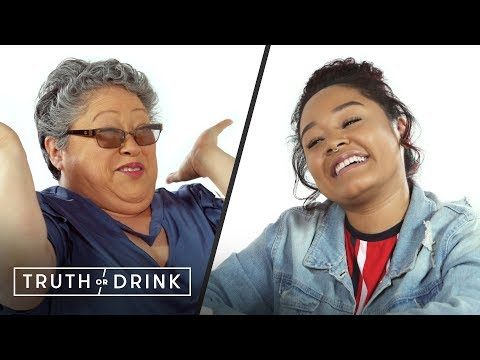 My Adopted Daughter & I Play Truth or Drink | Truth or Drink | Cut
