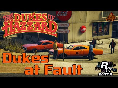 The Dukes of Hazzard Tribute Episode #2: Dukes at Fault!!! (GTA V Rockstar Editor Movie)