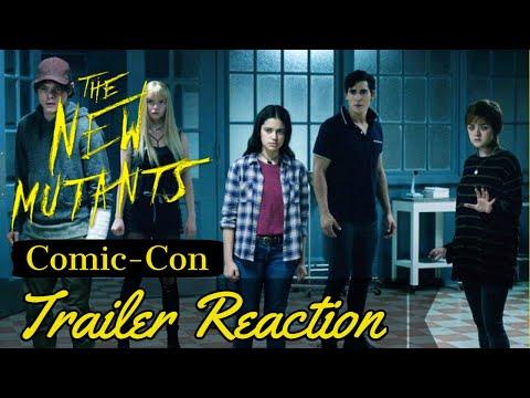 The New Mutants Comic-Con Trailer Reaction