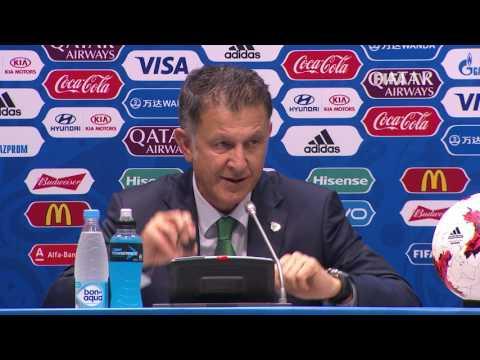 GER v MEX   Juan Carlos Osorio  Mexico PostMatch Press Conference