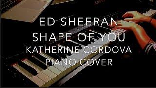 Ed Sheeran - Shape of You (HQ piano cover) Divide