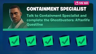 Fortnite Complete 'Containment Specialist' Guİde - How to Complete Ghostbusters: Afterlife Questline