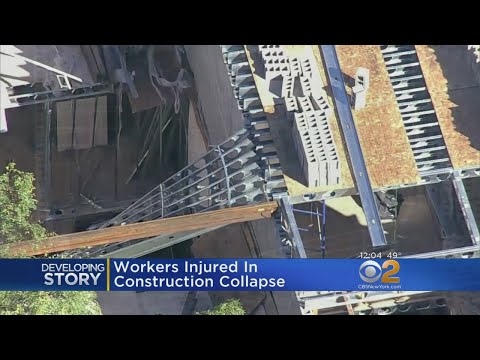 Workers Hurt In Construction Collapse In Brooklyn
