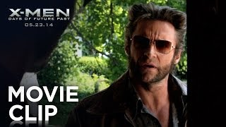 "X-Men: Days of Future Past | ""Wolverine Meets Beast"" Clip [HD] 