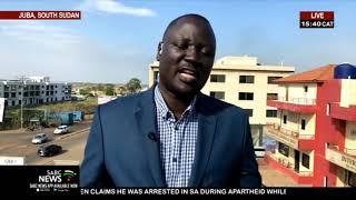 South Sudan's opposition leader Riek Machar sworn in as vice president