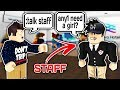 TROLLING STAFF WITH ADMIN COMMANDS IN ROBLOX!