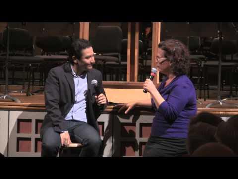 Andrés Orozco-Estrada with Christa Wessel