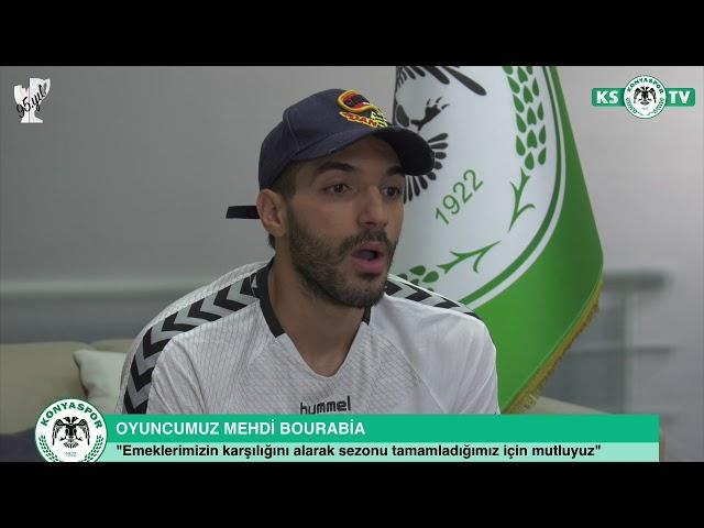 Oyuncumuz Mehdi Bourabia 2017- 2018 Sezonunu değerlendirdi