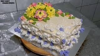 УКРАШЕНИЕ ТОРТОВ, Торт 'АВРОРА' от SWEET BEAUTY СЛАДКАЯ КРАСОТА, CAKE DECORATION