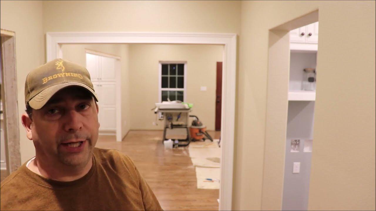 Building My Own Home: Episode 150 -  Installing the Door Trim