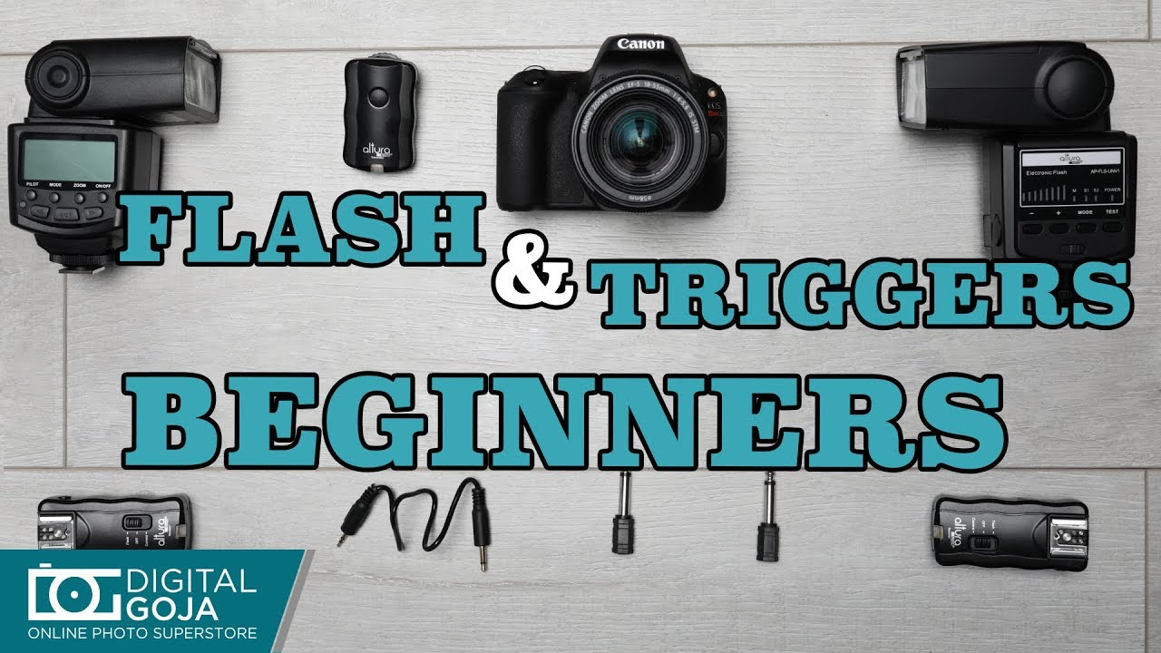 How To Use The Altura Photo Flash Triggers For Beginners Youtube