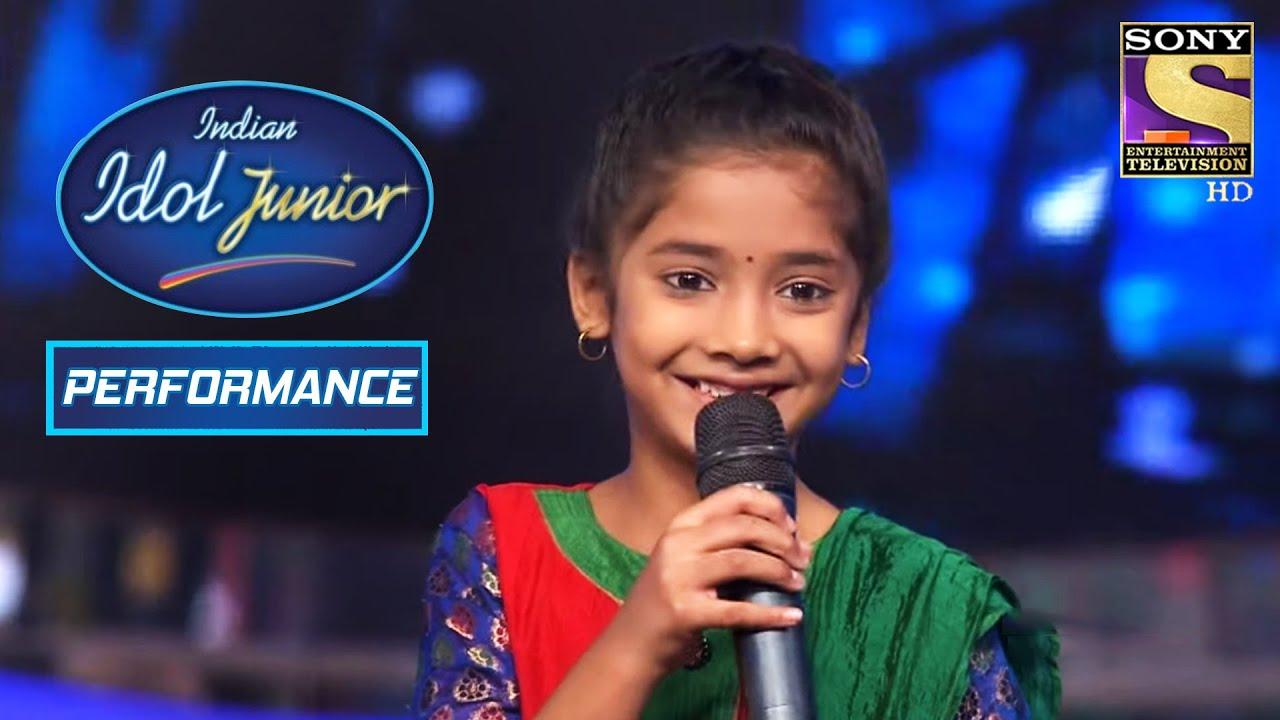 Download Sugandha's Sweet Performance On 'Kabhi Neem Neem'   Indian Idol Junior