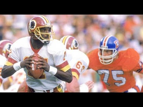 Doug Williams The First Black QB To Win The SUPERBOWL