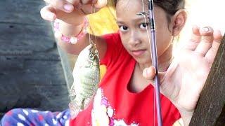 LIBURAN SERU 💖Jessica Jenica Mancing Ikan di Kolam Pemancingan Keluarga