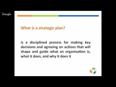 Webinar on NGO Management - Strategic Planning