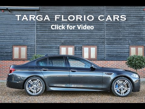 BMW M5 4.4 V8 Turbo DCT Automatic in Singapore Grey with Extended Merino Leather
