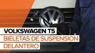 Cómo cambiar la bieletas de suspension delantero en VOLKSWAGEN T5 INSTRUCCIÓN | AUTODOC