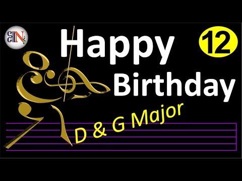 Belajar Biola Untuk Pemula (#12), Happy Birthday To You