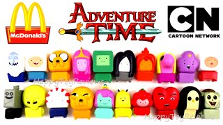 2016 ADVENTURE TIME McDONALD'S CARTOON NETWORK SET OF 20 HAPPY MEAL KIDS TOYS COLLECTION REVIEW